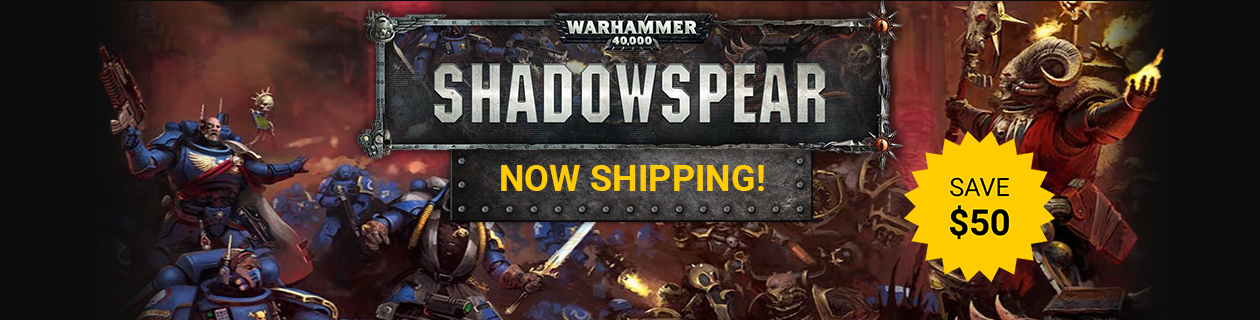 Warhammer 40K Shadowspear Out Now!