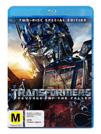 Transformers 2 - Revenge of the Fallen on Blu-ray