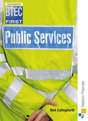 BTEC First Public Services by Nick Cullingworth