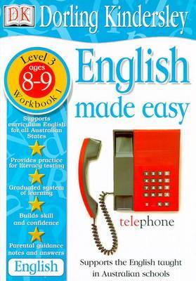 English Made Easy Level 2 (Age 8-9): Workbook 1 by Dorling Kindersley