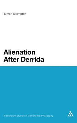 Alienation After Derrida by Simon Skempton image