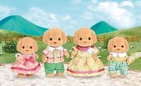 Sylvanian Families: Poodle Family Set