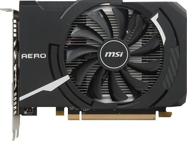 MSI Radeon RX 550 Aero 2GB Graphics Card