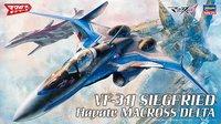 Macross - 1/72 Vf-31J Siegfried (Hayate Immelman Ver.) - Model Kit