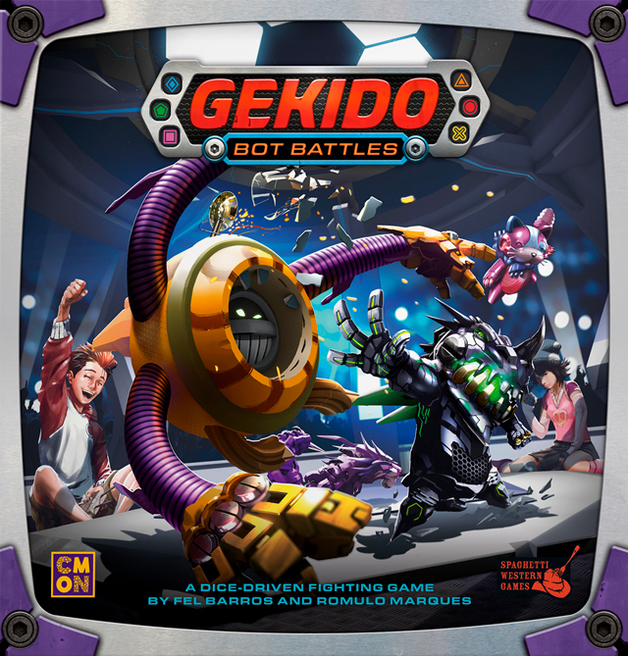 Gekido: Bot Battles - The Dice Fighting Game