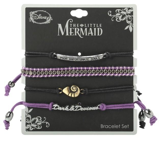 Neon Tuesday: The Little Mermaid - Dark And Devious Bracelet Set