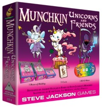 Munchkin: Unicorns & Friends - Game Expansion