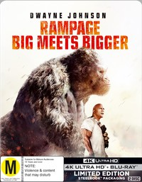 Rampage on UHD Blu-ray
