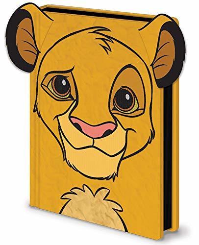 Lion King: A5 Premium Notebook - Simba