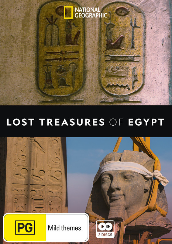 Lost Treasures of Egypt on DVD