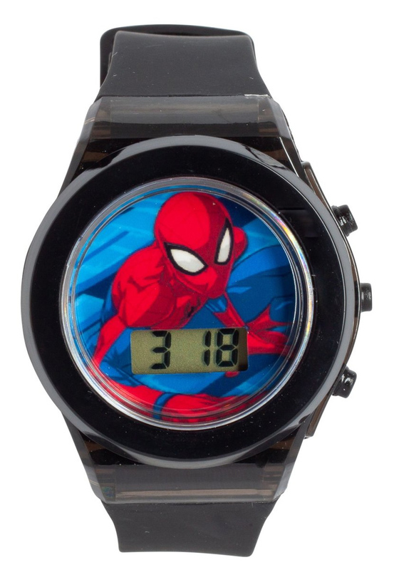 Spider-Man Light Up LCD Watch