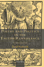 Poetry and Politics in the English Renaissance by David Norbrook image