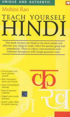 Teach Yourself Hindi by Mohini Rao image