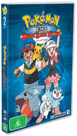 Pokémon DP Sinnoh League Victors Collection 2 on DVD