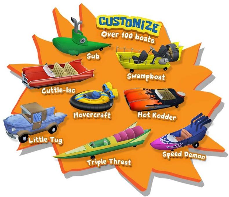 SpongeBob's Boating Bash for Nintendo Wii image