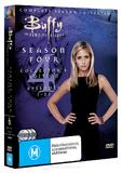 Buffy - The Vampire Slayer: Season 4 (6 Disc Set) on DVD