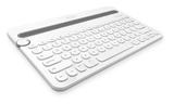Logitech K480 Multi-Device Bluetooth Keyboard (White)