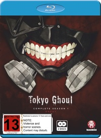 Tokyo Ghoul - The Complete First Season (BR) on Blu-ray