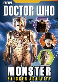 Doctor Who: Monster Sticker Activity Book by BBC
