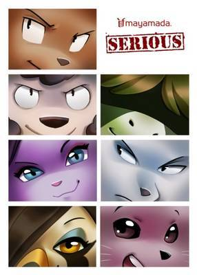 Serious: Volume 1 by K. Lao image