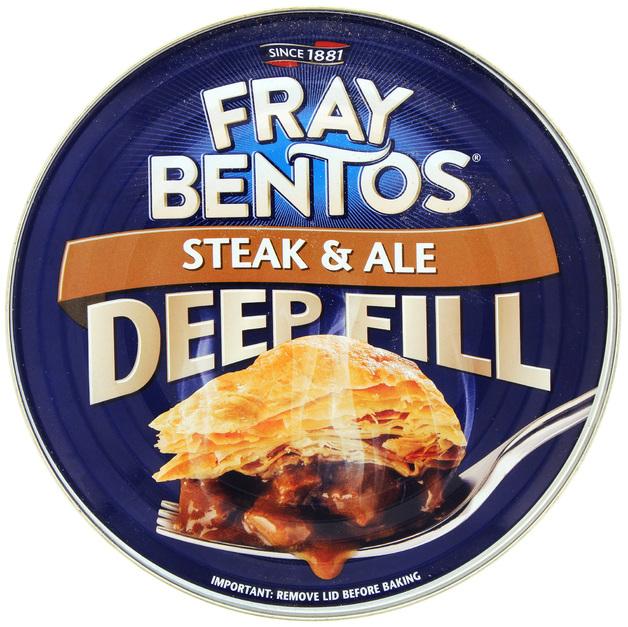 Fray Bentos 'Deep Fill' Steak and Ale Pie (475g)