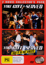 You Got Served / Take It To The Streets - 2 Movie Collector's Pack (2 Disc Set) on DVD