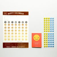 Happy Calendar - Bronze Foil (3 Pack)