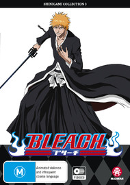 Bleach Shinigami - Collection 03 (Eps 80-121) on DVD