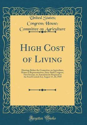 High Cost of Living by United States Agriculture
