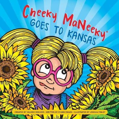 Cheeky Maneeky Goes to Kansas by D'Ann Swain image