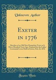 Exeter in 1776 by Unknown Author image