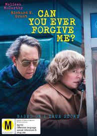 Can You Ever Forgive Me? on DVD image