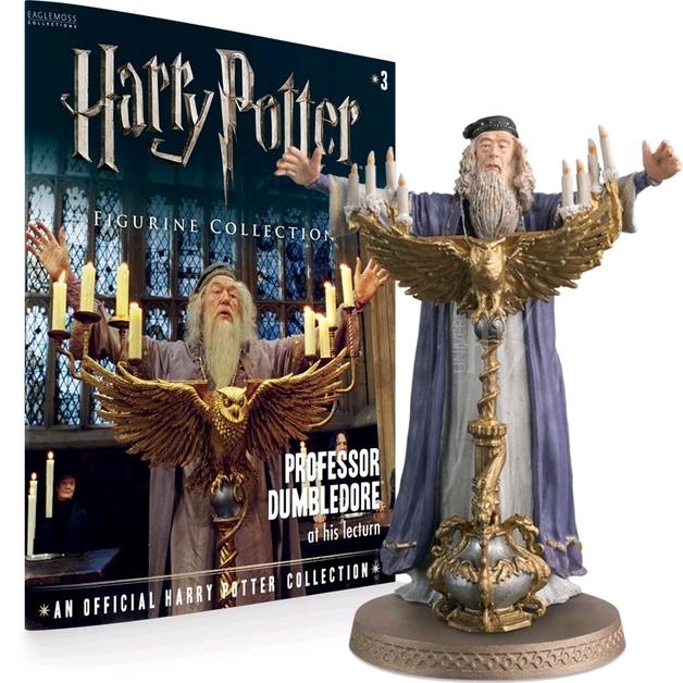 Harry Potter - Dumbledore - 1:16 Figure & Magazine