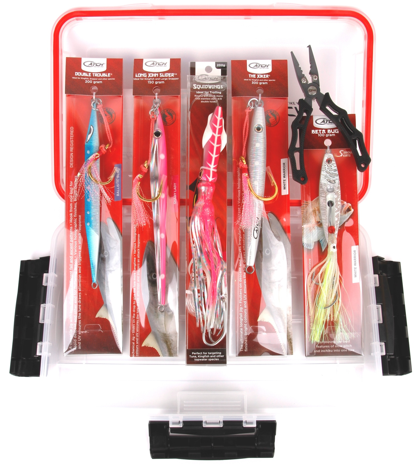 Catch Kingfish Value pack with Tackle Box image