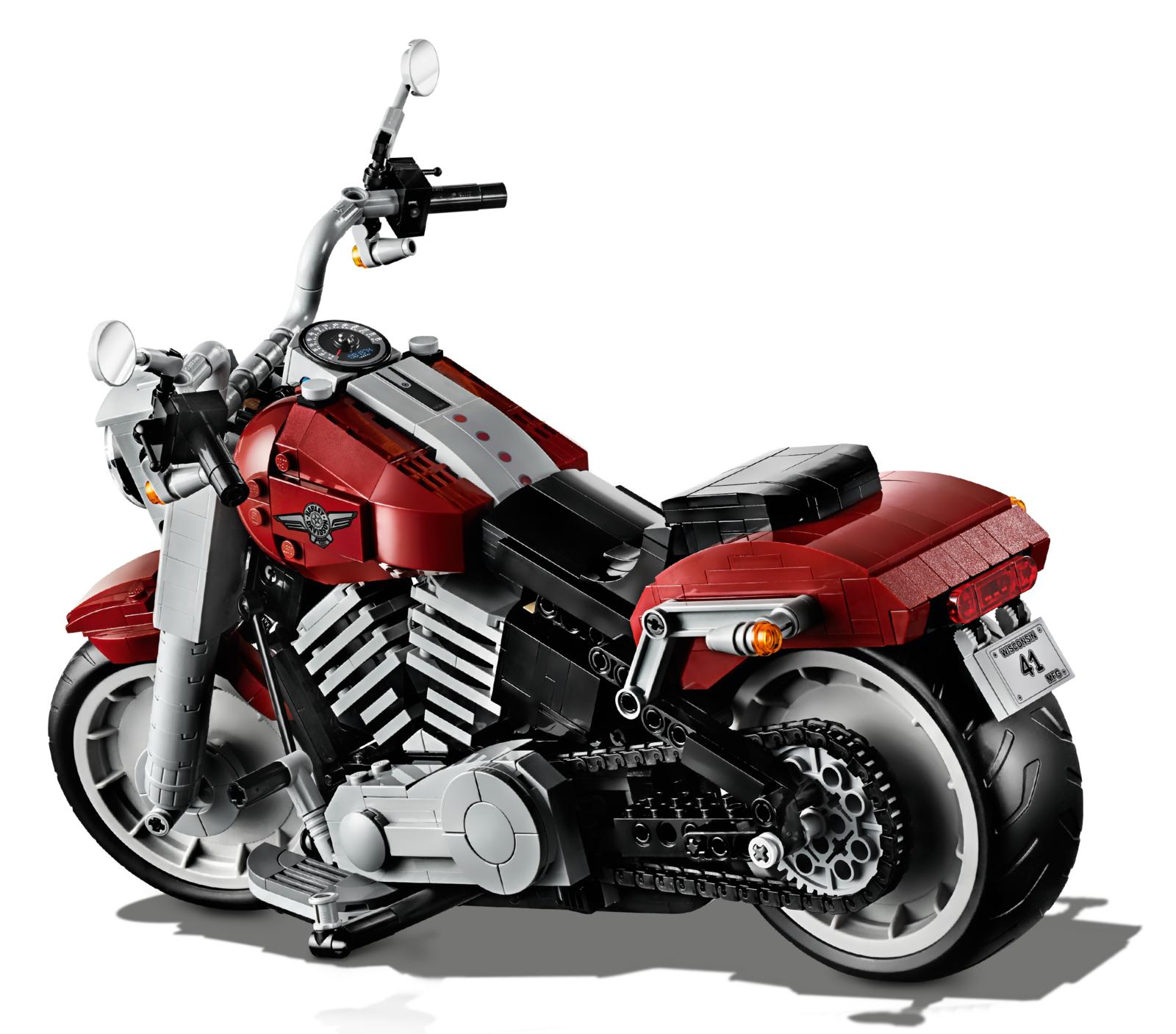 LEGO Creator: Harley-Davidson Fat Boy (10269) image