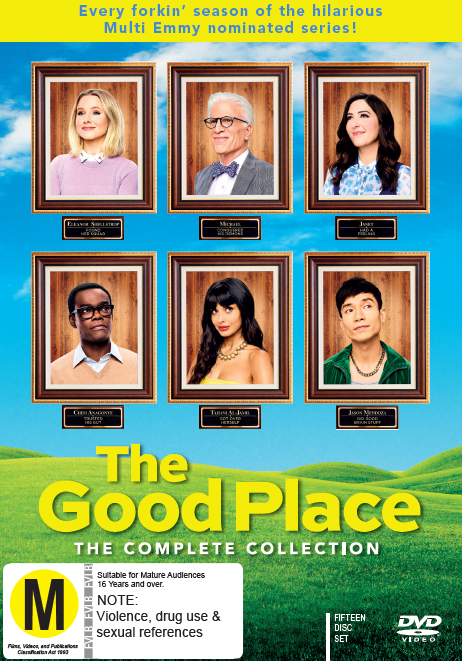 The Good Place: S1-4 - Complete Collection on DVD