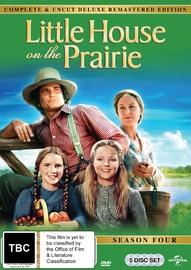 Little House On The Prairie Season 4 Digitally Remastered Edition on DVD