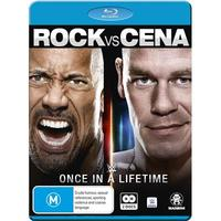 WWE: The Rock Vs. John Cena: Once In A Lifetime on Blu-ray