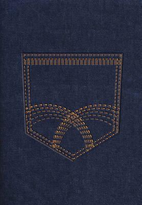 Rvr 1960 Biblia de La Vida Victoriosa, Mezclilla Con Cierre de Cremallera by Zondervan Publishing image