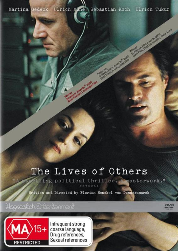 The Lives of Others on DVD