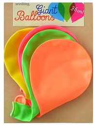 Seedling: Giant Balloons - 4 Pack