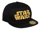 Star Wars: Gold Logo Snapback Cap