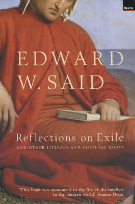 Reflections on Exile by Edward Said image