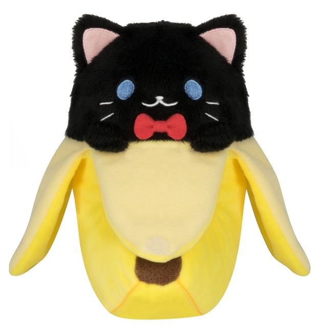Bananya - Black Bananya Plush