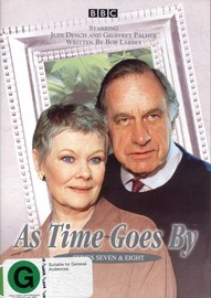 As Time Goes By - Series 7 & 8 (2 Disc Set) on DVD