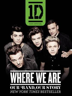 One Direction: Where We Are | One Direction Book | In-Stock