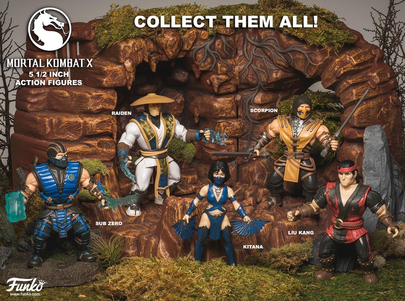 "Mortal Kombat: Kitana - 5"" Action Figure image"
