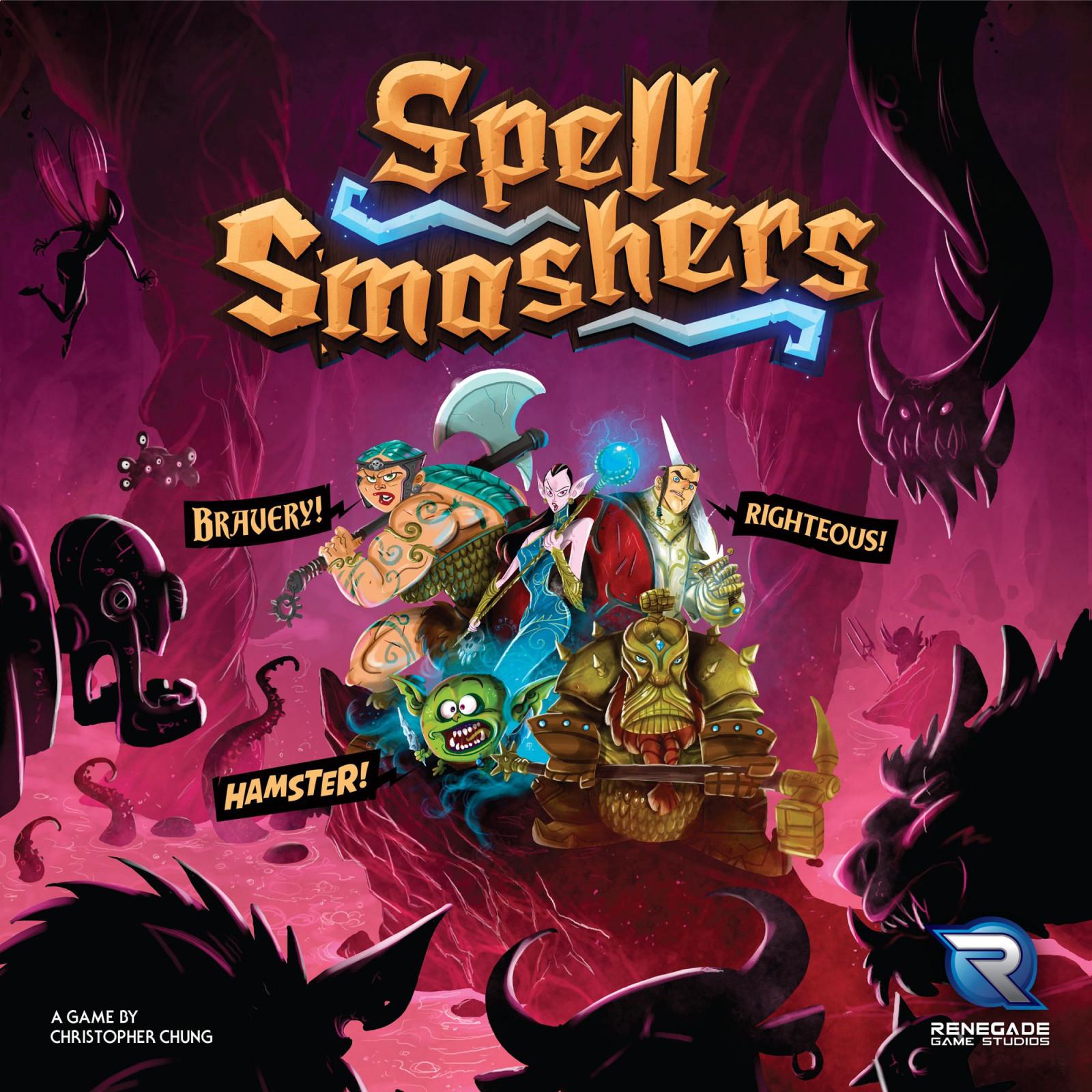 Fantasy Board Game Spell Smashers