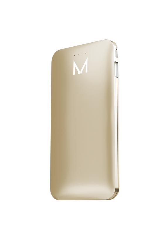 Moyork LUMO 5000 mAh Power Bank - Dubai Gold