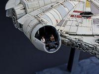 Star Wars: 1/144 Millennium Falcon- Model Kit